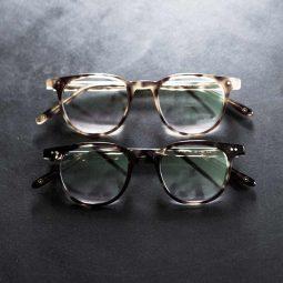 brune brillestel originale